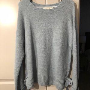Light Blue Cozy Sweater